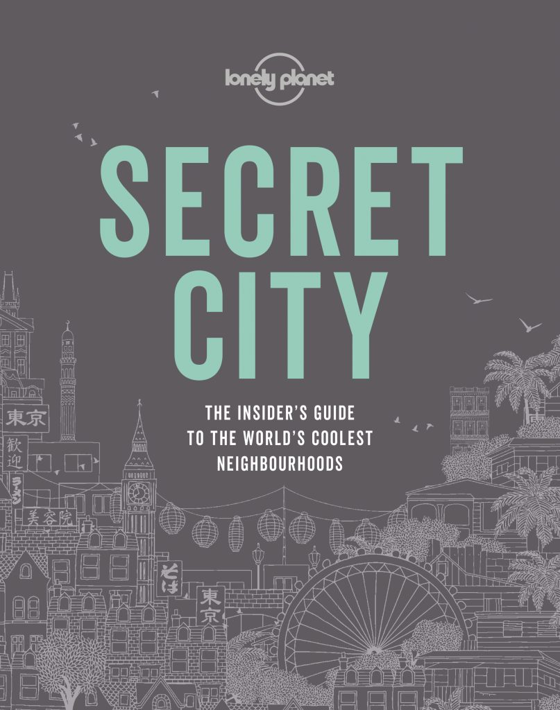 cover of Lonely Planet book Secret City